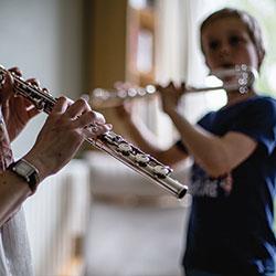 apprentissage d'un instrument